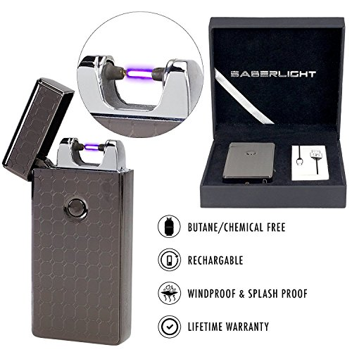 SaberLight Revolutionary Flameless Rechargeable Windproof product image