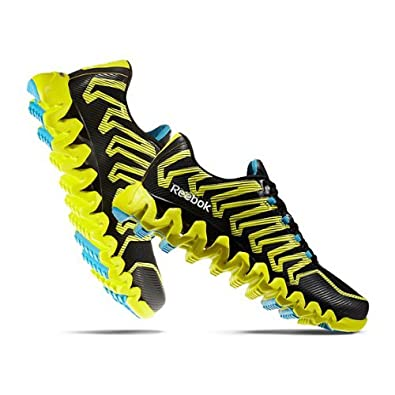 dc39d921af3a3b Reebok New Zigtech Shark 2.0 Black Yellow Mens 13