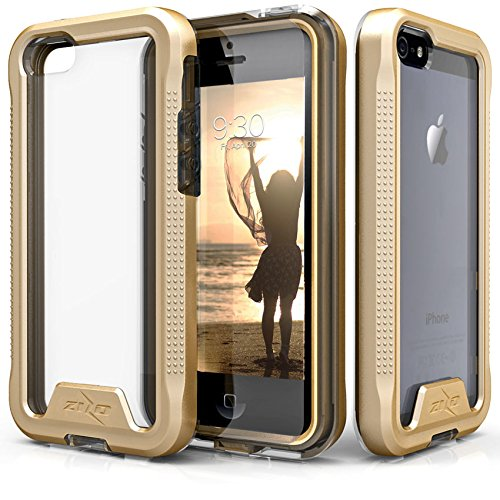 official photos 99746 ee497 Amazon.com: iPhone SE Case, Zizo [ION Series] with Free [iPhone SE ...