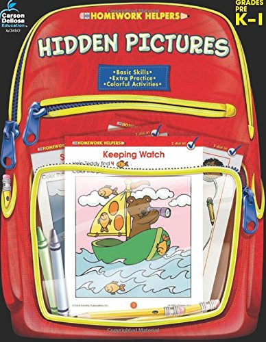 Hidden Pictures, Grades PK - 1 (Homework Helper) pdf epub