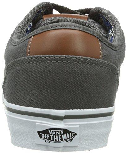 Vans Atwood Deluxe V00XB2EMI - Zapatillas para hombre Gris (10oz Canvas)Pw / D8D)