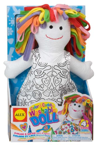 Alex  Toys - Color a Bag! & Accessories Color And Cuddle Doll 69WD