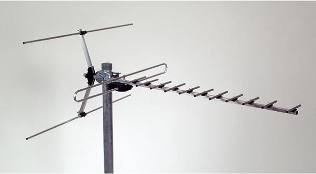 Asci vuf 115 VHF/UHF de nevera Antena con 15 Elementos ...