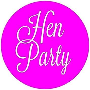Amazon.com: Despedida de soltera etiquetas rosa neón con ...