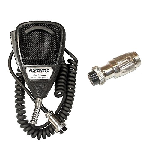 Astatic 636L 4-Pin CB Radio Microphone W/6-Pin RCI Radio Compatible Adapter Review