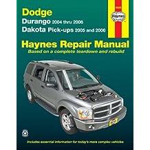 Dodge Dakota & Durango, '04-'06