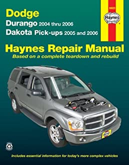 dodge durango 04 06 dakota pick ups 05 06 haynes repair rh amazon com 2004 dodge durango owners manual pdf 2004 dodge durango owners manual pdf