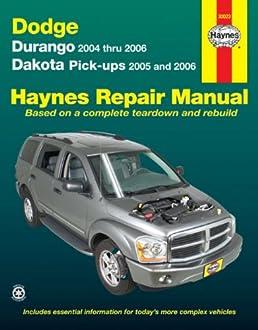 dodge durango 04 06 dakota pick ups 05 06 haynes repair rh amazon com 2010 Dodge Dakota Repair Manual 3.9L Dodge Dakota Mounting Bracket