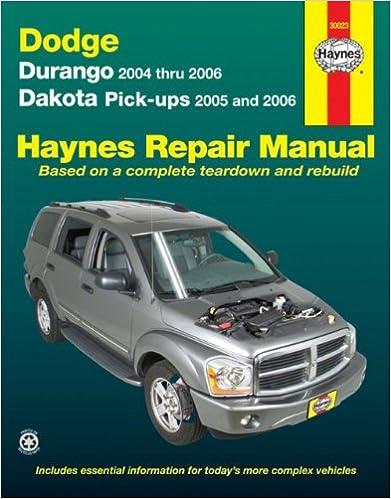 Dodge durango 04 06 dakota pick ups 05 06 haynes repair dodge durango 04 06 dakota pick ups 05 06 haynes repair manual 1st edition fandeluxe Choice Image