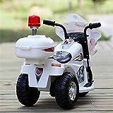 Dorsa  Ride On Kids Battery Operated Kids Motorbike, White