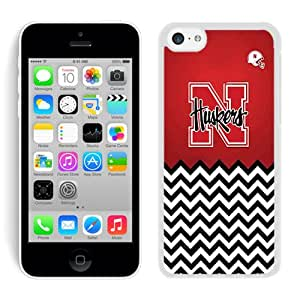 Nebraska Huskers White For iPhone 5C Case Genuine and Cool Design