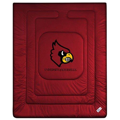 NCAA Louisville Cardinals Locker Room Comforter Queen