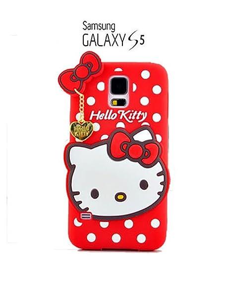 83dd994a16c Suave 3D Hello Kitty piel funda Cover Carcasa Cubierta Caso Case Skin de  silicona para el