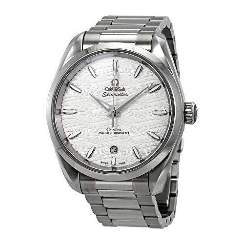 Omega Seamaster Aqua Terra Co-Axial Master Chronometer Automatic Silver Dial Ladies Watch 220.10.38.20.02.003