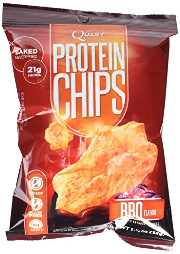 Quest Nutrition Protein Chips, BBQ, 16 Count