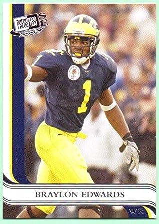 on sale f1b02 c1738 Braylon Edwards 2005 Press Pass SE Rookie #23 - Cleveland ...