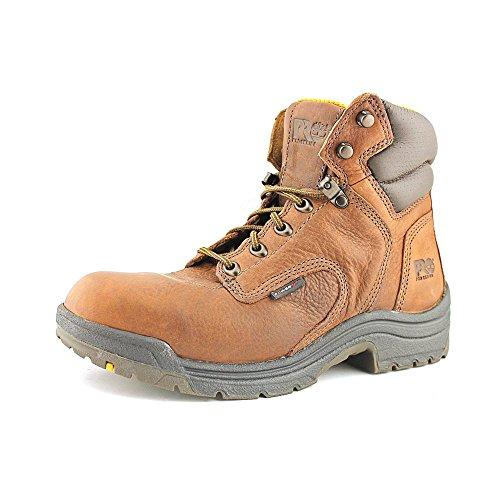 PRO 55398 Women's TiTAN Soft Toe 6-in Work Boots Coffee