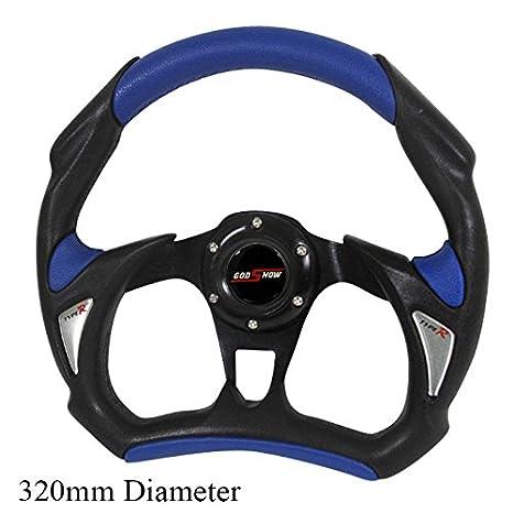 Amazoncom Rxmotor Universal Fit Mm JDM Battle Racing Steering - Acura steering wheel