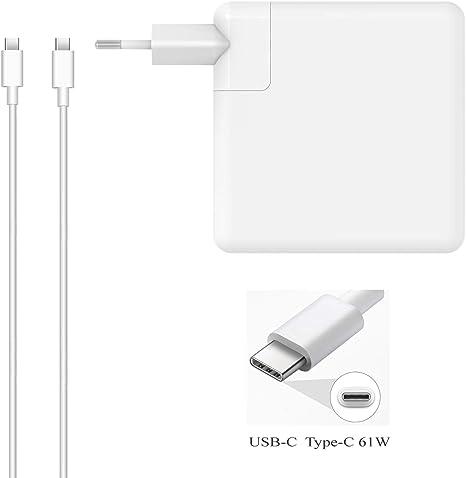 DTK 61W USB-C Tipo C Cargador para Nuevo Macbook Pro HP Acer ASUS ...