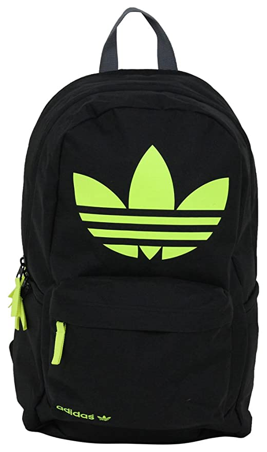 9698e2f5f886 Adidas Originals Burns Backpack Bag Gym Trefoil Logo Black  Amazon ...