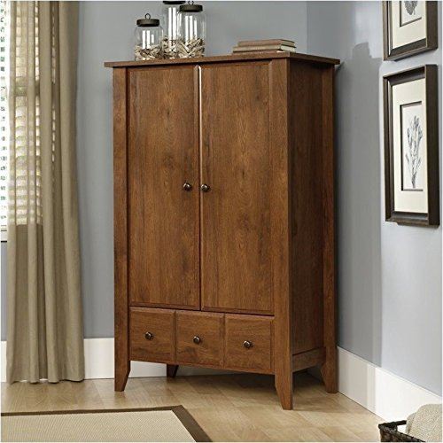 042666104173 - Sauder Shoal Creek Armoire, Oak carousel main 0