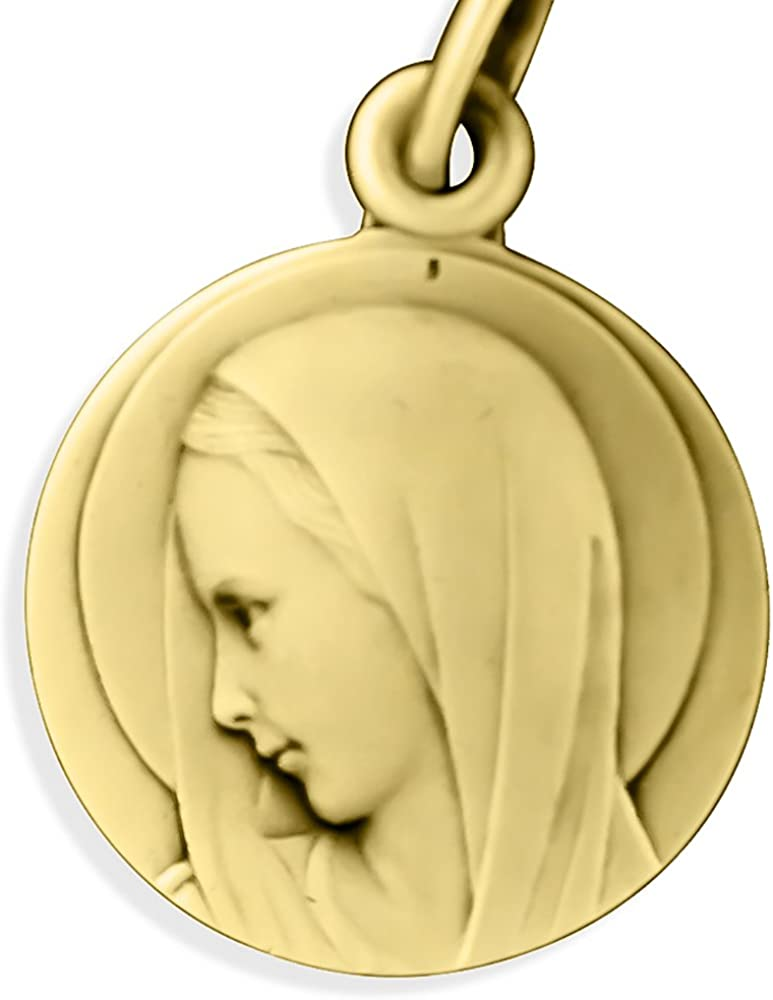 Glorieux Silver-Plated Saint Joseph Medal