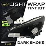 vinyl adhesive promoter - LightWrap Automotive Universal Light Tint Kit by Luxe Auto Concepts | Headlight, Tail Light, Sidemarker, Fog Light dry install cast vinyl wrap + 20