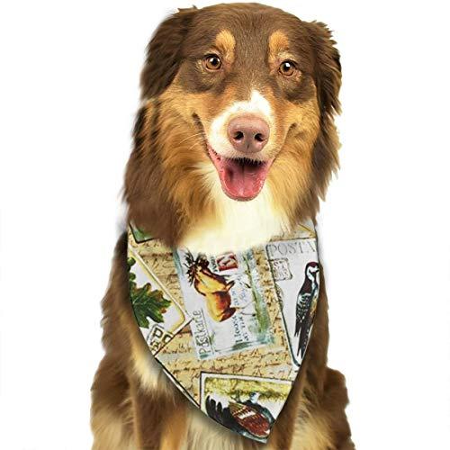 (FortniteCOM Dog Bandana Animal Silhouette Photo Triangle Bibs Scarf Printing Kerchief Set Accessories Dogs Cats Pets)
