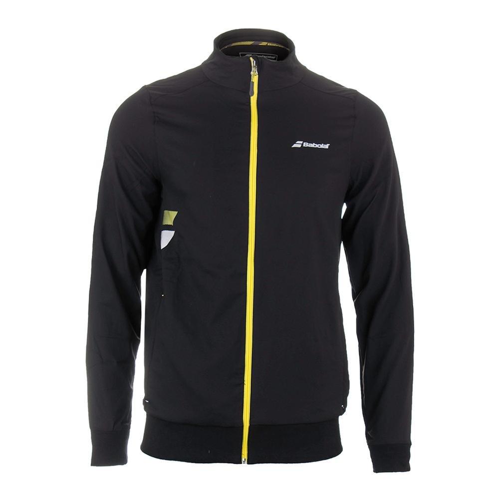 Babolat Jacket Club Core Hombre Tenis Ropa Negro