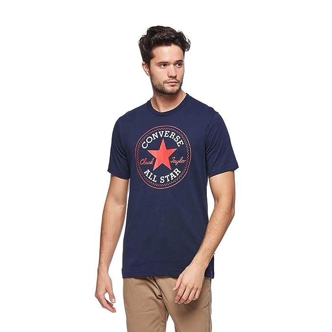 Converse All Star T-Shirt  Chuck Taylor Chucks Herren Marineblau