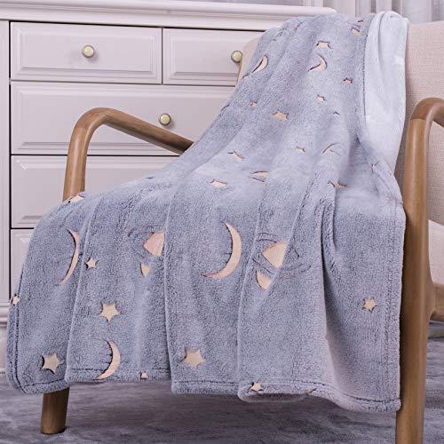 SOCHOW Flannel Plush Throw Blanket 50