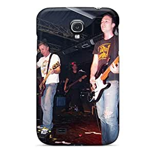 Samsung Galaxy S4 Ojw19135drKv Custom Colorful Red Hot Chili Peppers Pictures Shock Absorbent Hard Phone Cases -KerryParsons
