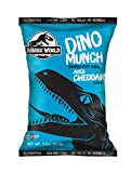 Jurassic World Dino Munch Aged Cheddar Dino Shaped Puff Corn 3.5 oz, Case of 8