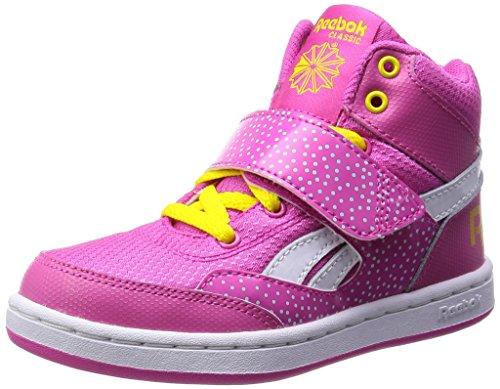 Baskets REEBOK Mission - Pink/Yellow/Cool Breze - Taille 37 EU