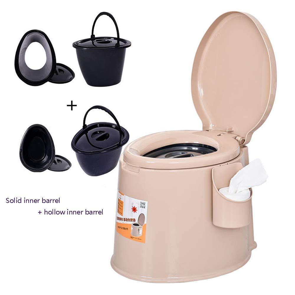 Bewegliche Toilette, Die Starken Rutschfesten Entfernbaren Toilettentoilettenschwangerfrauen Plastiktoilettenstuhl  Gewöhnlichen Erhöht,A