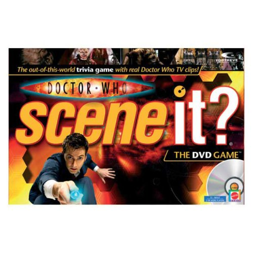 Mattel Doctor Who Scene It? Dvd Game by Mattel