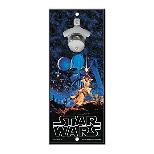 WinCraft Disney Star Wars Wood Sign Bottle Opener ()