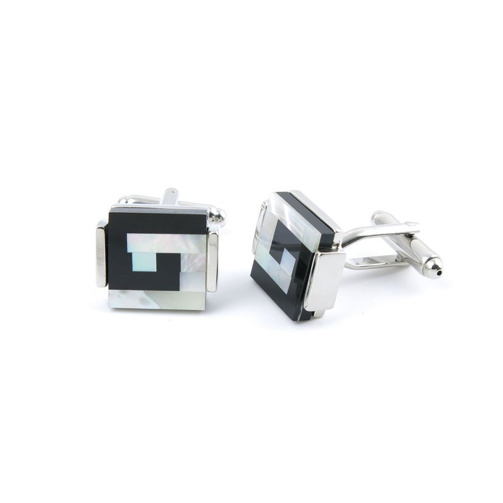 10 Pairs Men Boy Jewelry Cufflinks Cuff Links Party Favors Gift Wedding UA007 Agate Square