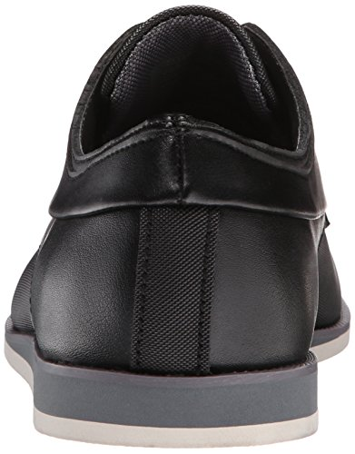 Black Leather on Men's Kellen Loafer Emboss Klein Calvin Slip 7SI8qS
