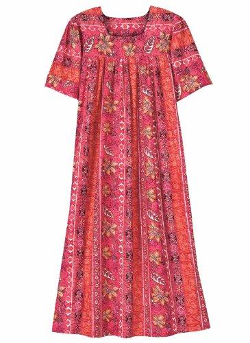 Batik Dress Gifts Pink Carol Flattering Wright HcZtUcqn7y
