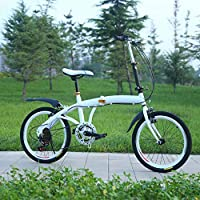Grimk Urbana Bicicleta Plegable Ciudad Unisex Adulto Aluminio Bici ...