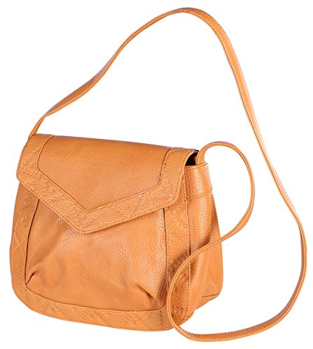 Billabong Juniors Salty Afterglow Crossbody Bag Purse-Camel
