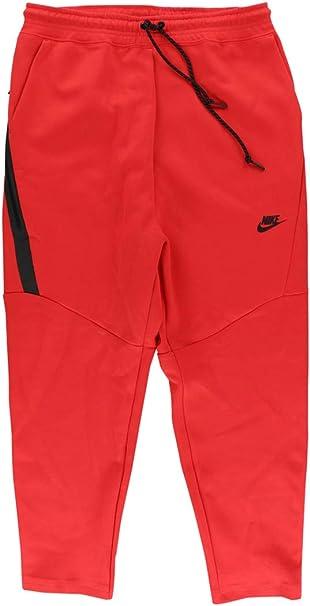 Nike Tech FLC Cropped Pant Pantalón de chándal, Hombre: Amazon.es ...