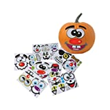 Make Your Own Jack O Lantern Halloween Sticker Set