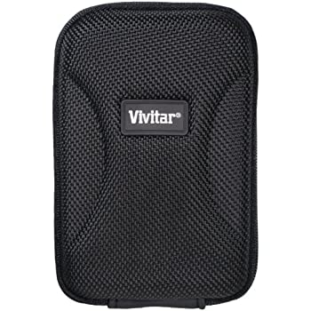 Vivitar HSC4 Hard Shell Carrying Case for Cameras - Medium (Black)