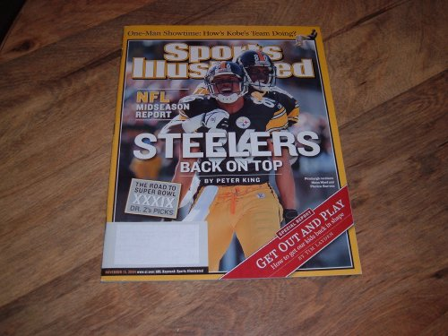 - Sports Illustrated, November 15, 2004 issue-Pittsburgh Steelers-Cover photograph of Hines Ward & Plaxico Burress.