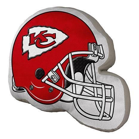The Northwest Company Kansas City Chiefs Helmet Plush Pillow
