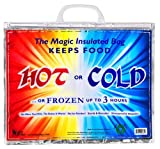 Large Insulated Bag, Keeps Food Hot or Cold up to