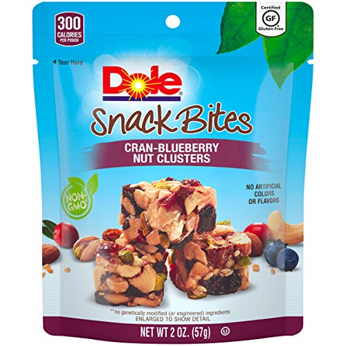 DOLE SNACK BITES Cran-Blueberry Clusters 2 Ounce (Pack of 12)