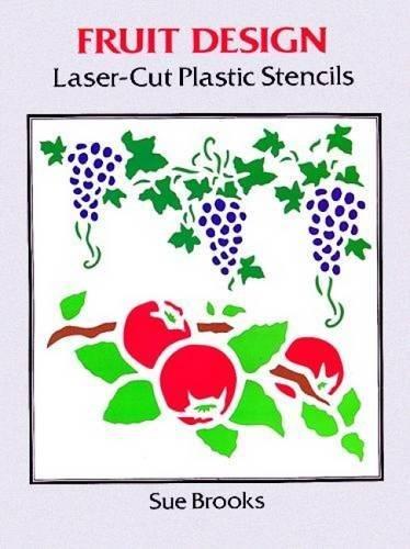 Fruit Design Laser-Cut Plastic Stencils